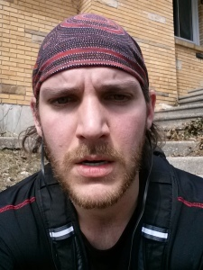 After my most recent run. My face does little to suggest that I enjoyed it wholeheartedly.